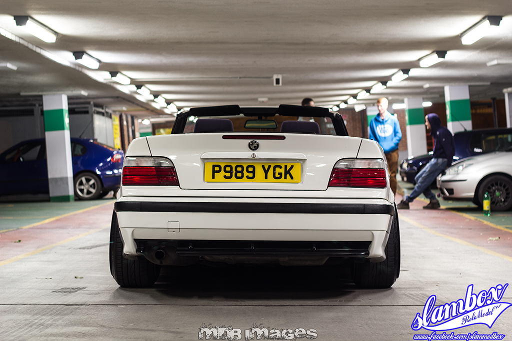 X8 Bmw >> Glen's BMW E36 318i Convertible (Vert) – Slambox Feature ...